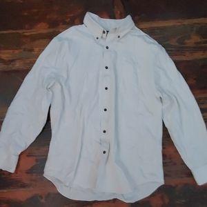 NWOT Button Down Brushed Cotton Shirt